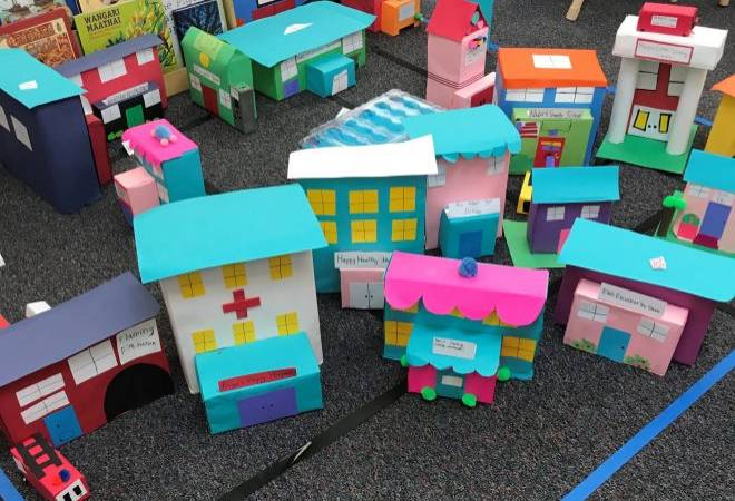 second Grade town